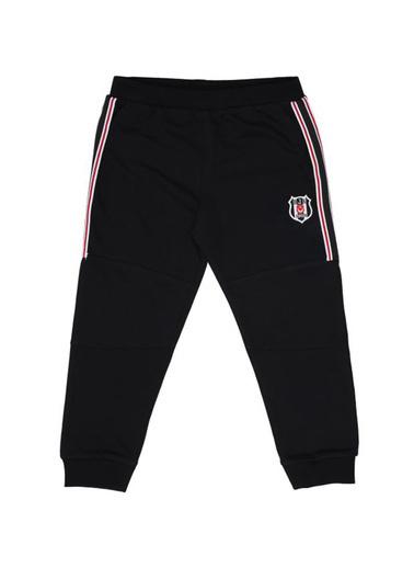 Beşiktaş Beşiktaş Lisanslı Siyah Erkek Çocuk Pantolon Siyah